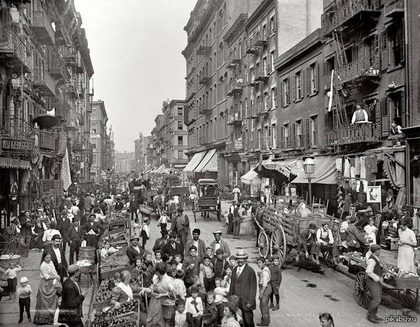 Маленькая Италия, Нью-Йорк, 1900 год