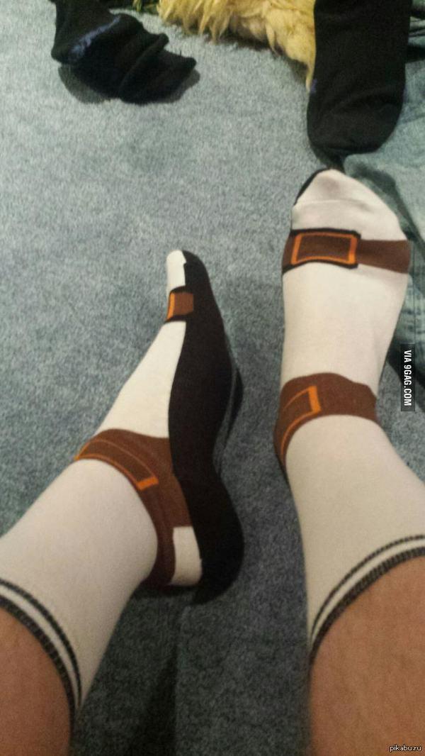 Носки сандалии с носками Уже вижу, как бесятся хейтеры.