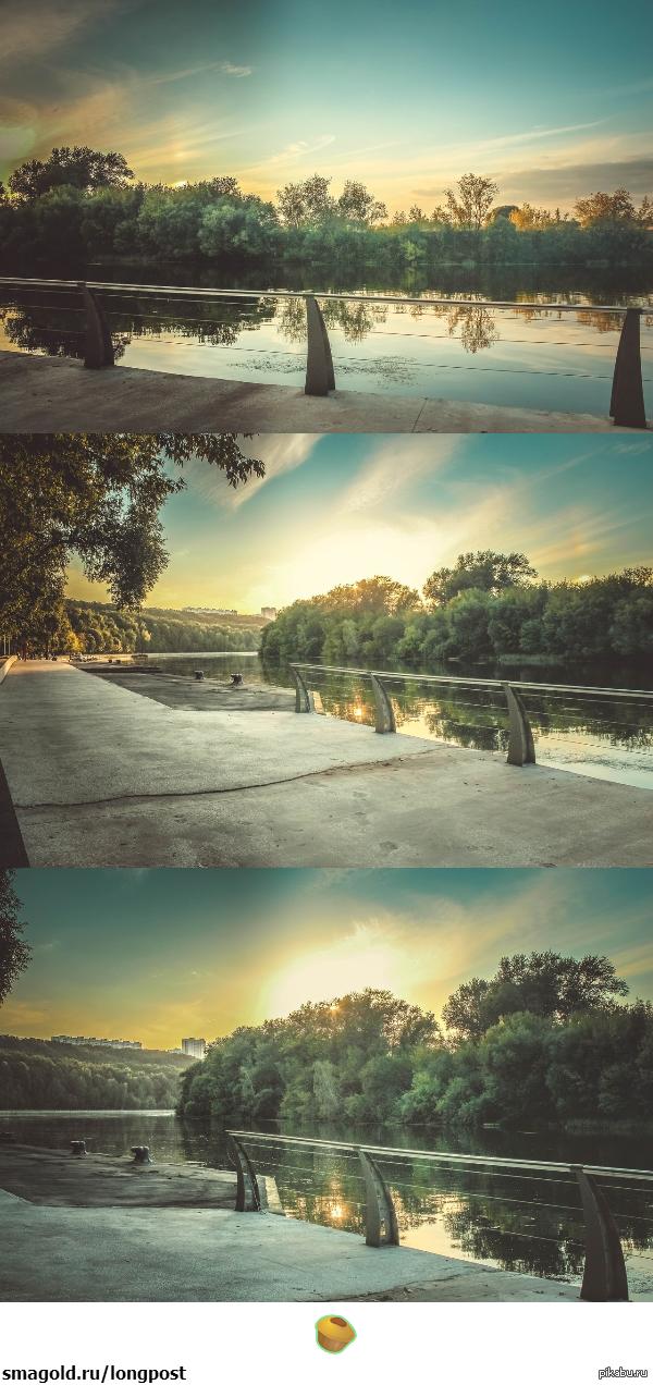 Закаты в Москве Просматривая снимки с лета, становится теплее на душе в эту холодную погоду.