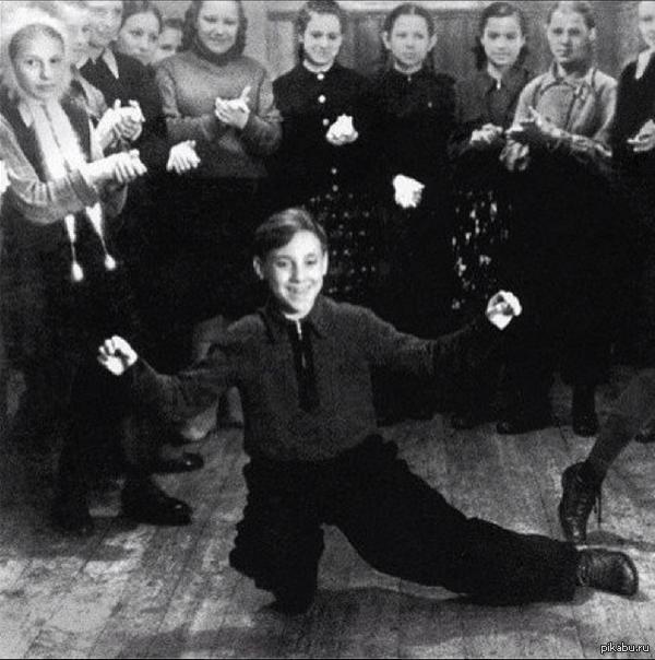 Высоцкий 12-летний Высоцкий в пионерском лагере