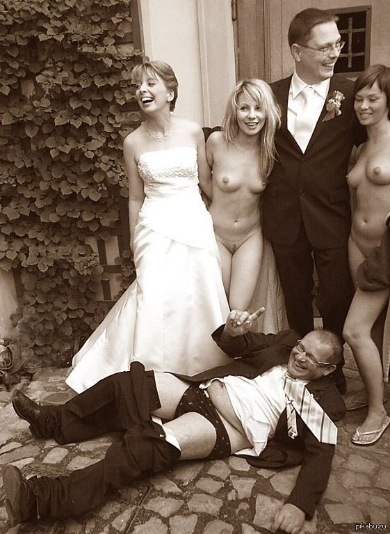 обнаженка на свадьбе - 5