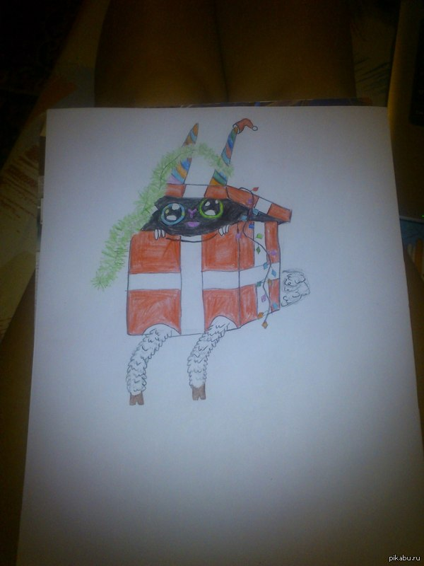 """вдохновил <a href=""""http://pikabu.ru/story/razdayu_printyi_2927635"""">http://pikabu.ru/story/_2927635</a>  мой первый рисунок, честно, решила срисовать  буквально 20-30 минут"""