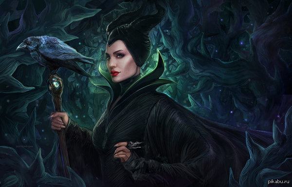 repainted maleficent and prince - photo #8