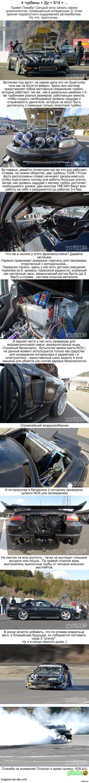 Очень интересный проект Silvia s14 Специально для любителей автомобильного прона