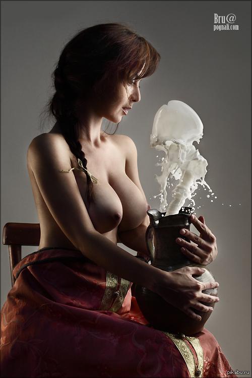 Молоко из девушек