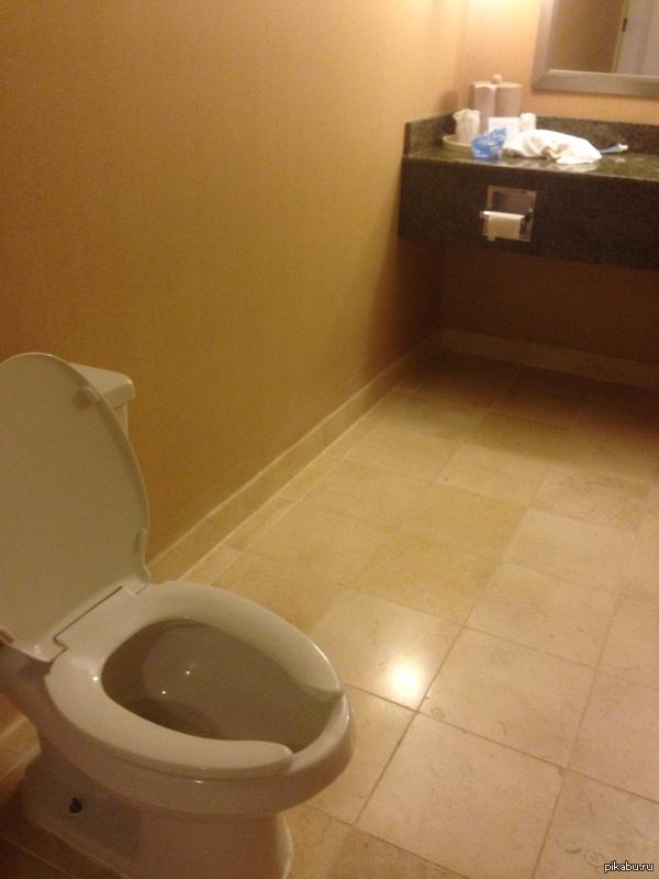 """""""Я хочу сыграть с тобой в игру"""" туалет в отеле конструировал Инспектор Гаджет"""