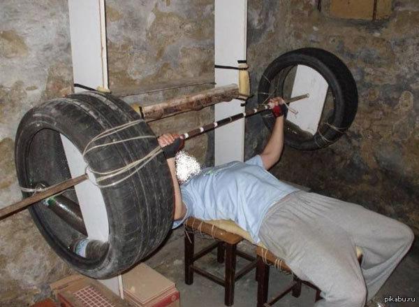 Как самому сделать тренажеры дома