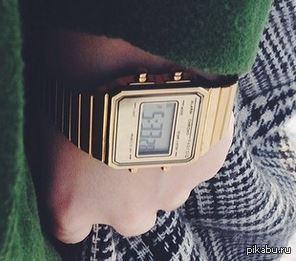 Требуется помощь в опознании марки электронных часов. Часы современные, вряд ли из бюджетных.