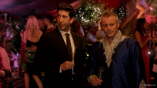 Джоуи и Росс опять вместе! Дэвид Швиммер в роли камео в новой серии Эпизодов