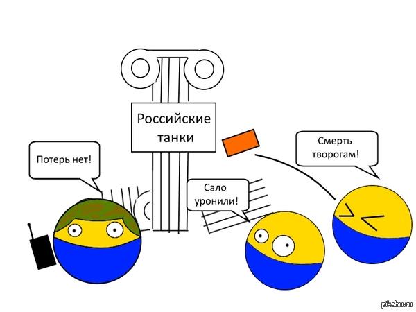 Как я вижу новости об очередной уничтоженной колонне российских танков