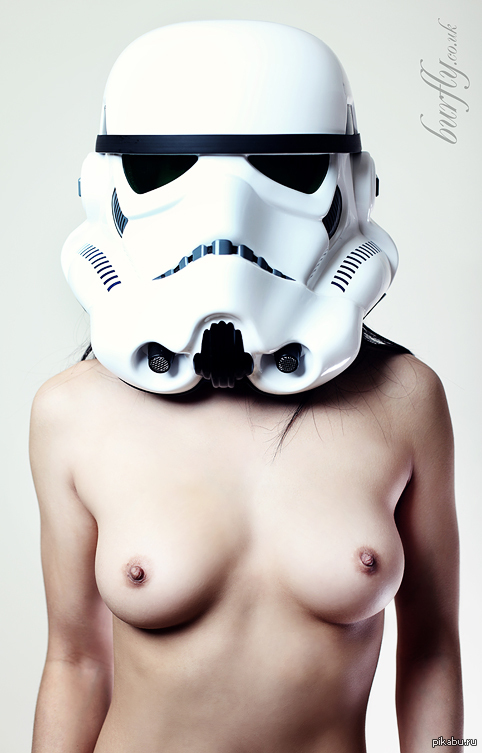 Topless female stormtrooper — photo 12