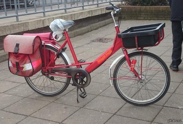 """""""Я почему раньше злой был? Потому что у меня велосипеда не было."""" © Почта не России Даже на этом они доставляют почту вовремя и качественно"""