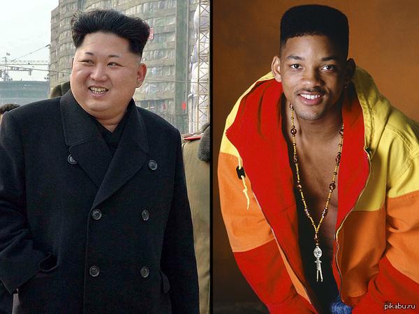 Ким Чен Ын сменил прическу и форму бровей журнал People считает, что на новый стиль лидера КНДР повлиял образ Вилла Смитта начала 90-х годов