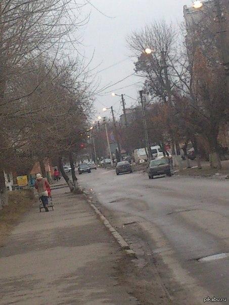 Экономия электричества, Украина. Белая церковь Днем горят, а вечером выключают