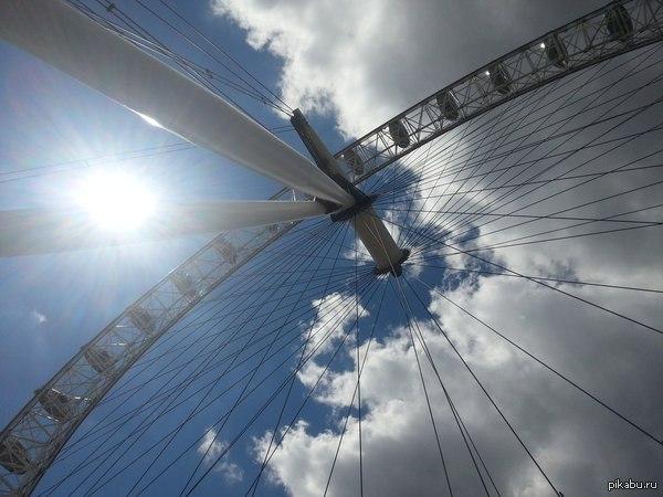 Просто London Eye. Лондоновское колесо обозрения.