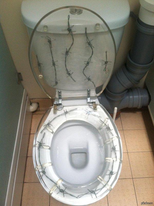 Не очень удачный дизайн для сидушки...