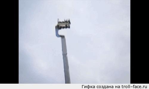 Аттракцион - в космос. 3МБ
