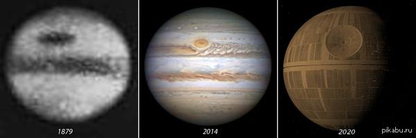 """Как люди видели Юпитер к посту <a href=""""http://pikabu.ru/story/kak_lyudi_videli_yupiter_v_1879_i_2014_godu_3225049"""">http://pikabu.ru/story/_3225049</a>"""