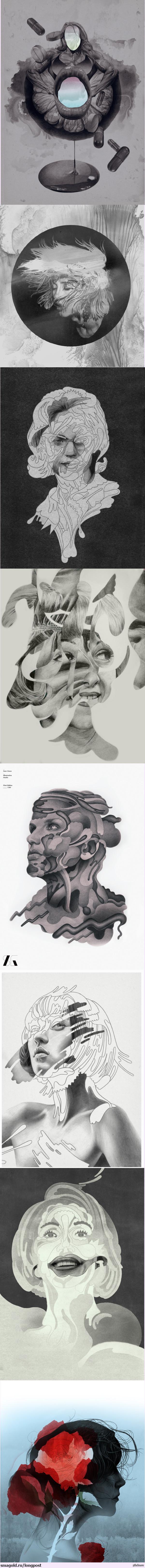 Sam Green - Illustrator Некоторые из работ иллюстратора Сэма Грина. Ознакомиться с остальными его работами можно здесь - http://sams-place.net/
