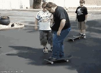 Почему скейтборды опасны для толстых людей
