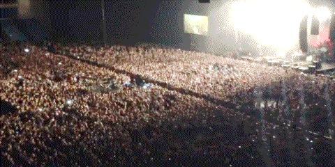 Слэм на концерте
