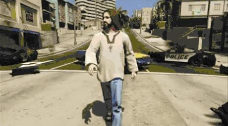 Иисус мод в GTA 5 Не шути с Иисусом