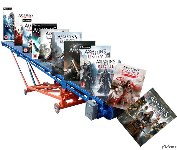 Assassin s creed конвейер магазины для фольксвагена транспортер т4