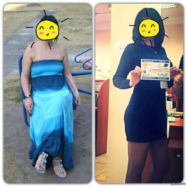 Моя маленькая победа. Минусуйте. Фото слева 84 кг август 2014. Фото справа 66 кг март 2015. Было трудно. Еще много крови, пота и боли впереди... но уже радости нет предела.