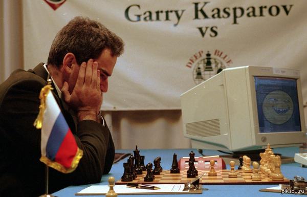 11 Мая все ИИ мира празднуют превосходство компьютера Deep Blue над Гарри Каспаровым в 1997 году. Несмотря на победу в реванше, Гарри Каспаров признал, что нелогичная игра Тёмно-Синего, из-за которой он проиграл, может быть знаком высшего разума.