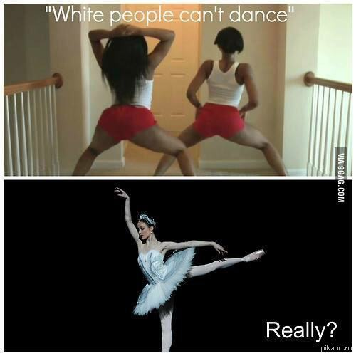 Танцует и мнет сись