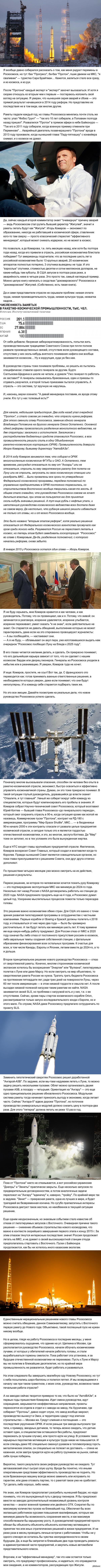 Куда летит Роскосмос