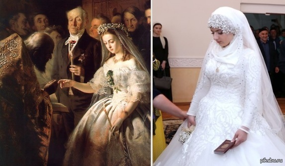 Опубликованы фото и видео со скандальной свадьбы в Грозном 14