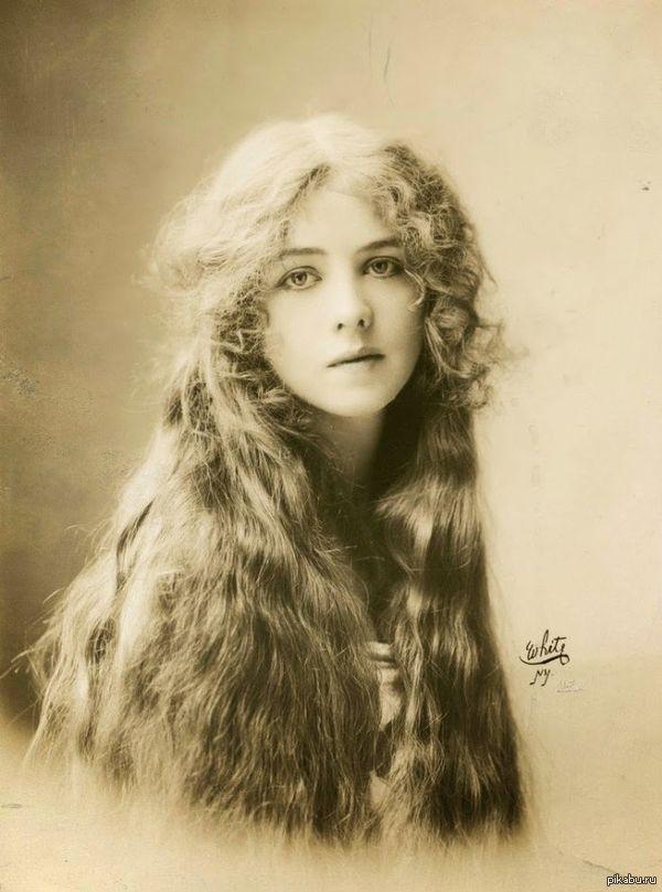 Красивое старое фото актриса Ione Bright  фото Rudolf Eickemeyer Jr. (1912)