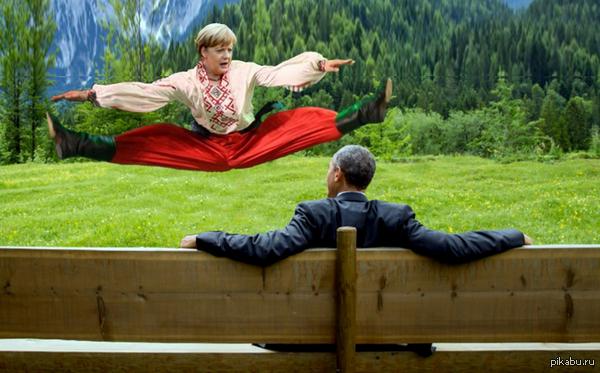 """""""Я мечтаю проехать по Транссибу в России"""", - Меркель - Цензор.НЕТ 3582"""