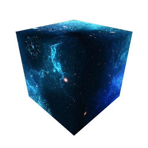 Космос в виде куба