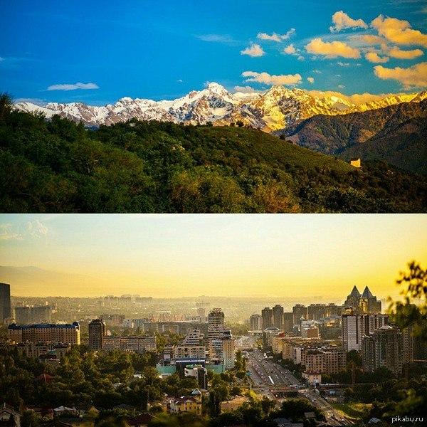 мой любимый город Алматы :)