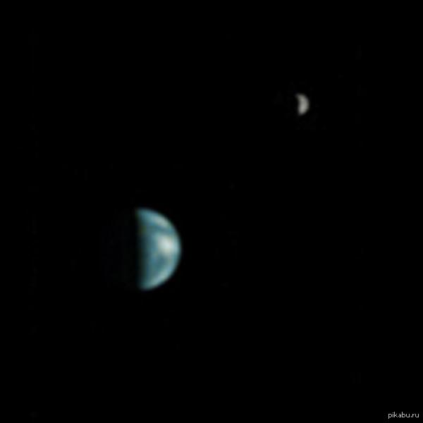 Как Марсиане видят Землю и Луну