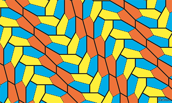 Научный мир не дремлет. Открыт новый вид пятиугольников, покрывающих плоскость без разрывов и перекрытий.  Перфекционисты и дизайнеры затаили дыхание.