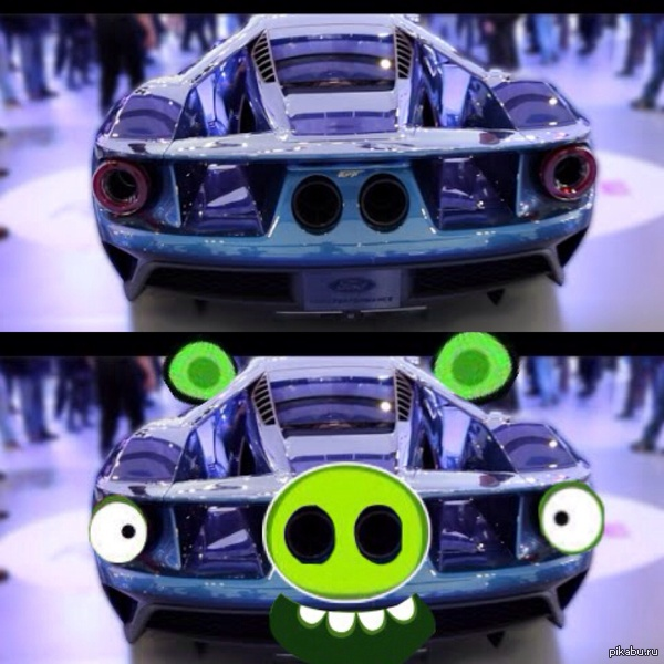 Ford Gt  C B Angry Birds
