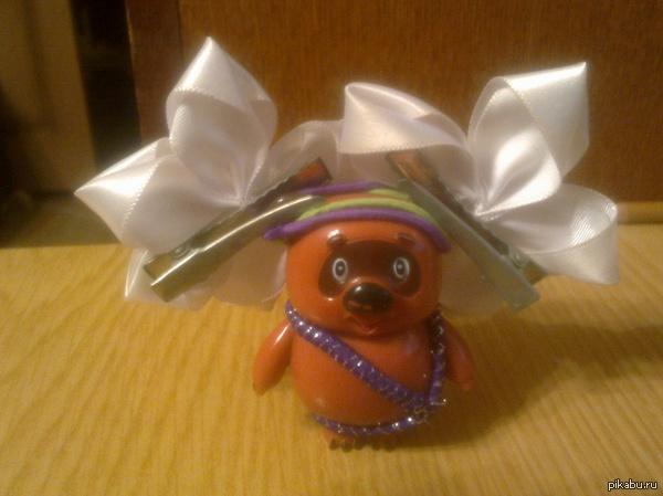 Маскарадный костюм: Пират дочка нарядила Винни на игрушечный праздник)