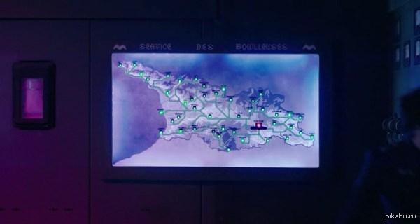 """Карта определенно что-то напоминает смотрю я тут фильм """"Джеки в царстве женщин"""""""