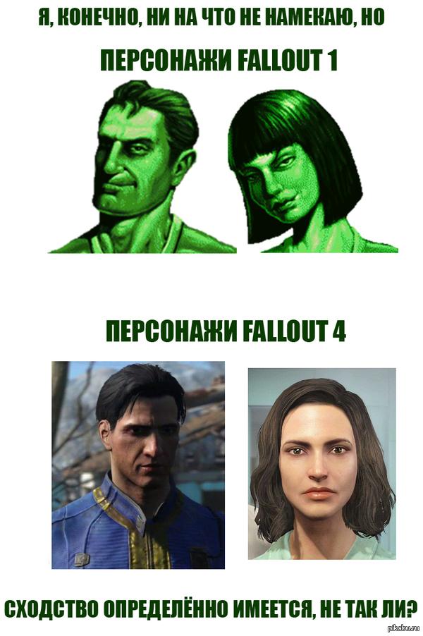 Поразительное сходство