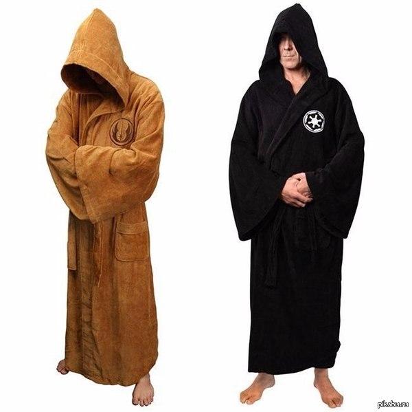 Теплые халаты для Джедаев и Ситхов
