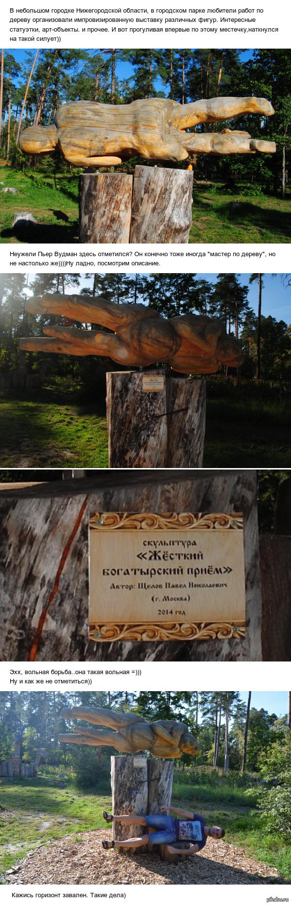 Вольная борьба в парке искусств внезапно)