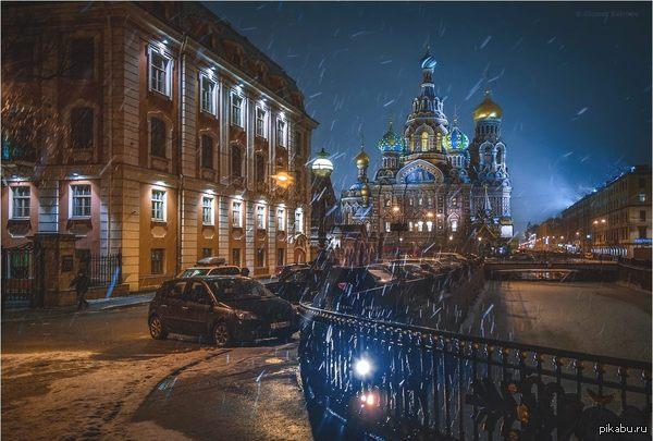 Слякотный Питер, я все равно скучаю... Автор фото - Александр Кукринов