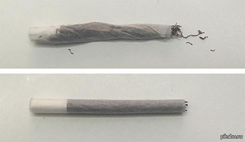 Самокрутка Обычного Человека VS Самокрутка Курильщика