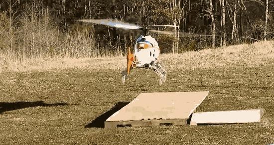 DARPA разрабатывает адаптивное вертолетное шасси Вместо лыжного или колесного шасси устанавливаются подвижные опоры.