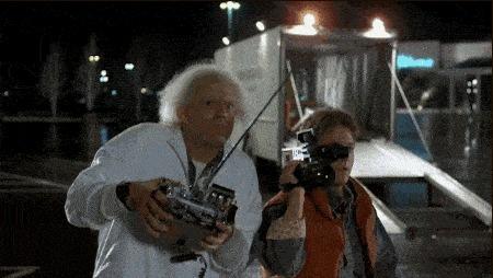 Док и Марти шалят