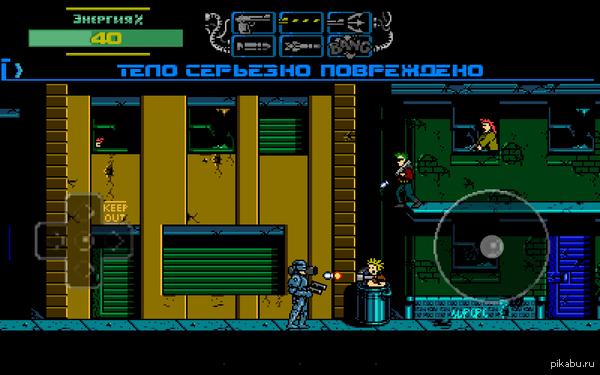 Ностальгии пост Robocop 3  Отличная была игра на nintendo (денди).