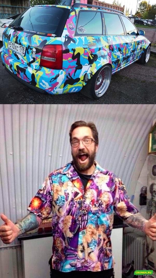 Угадайте чья машина?